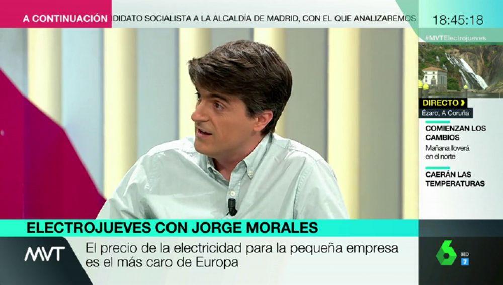"""La solución para que nuestro recibo de la luz se abarate, según Jorge Morales: """"Hace falta cambiar la ley eléctrica"""""""