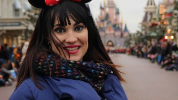 Irene Villa en Disneyland
