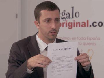 """El Jefe infiltrado le muestra a Adrián su carta de despido: """"Hay fallos imperdonables"""""""