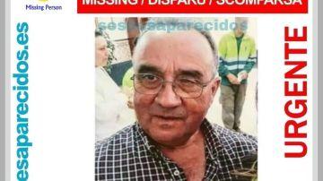 Roberto, desaparecido desde febrero