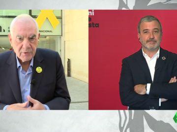 Ernest Maragall y Jaume Collboni
