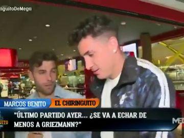 """José María Giménez: """"A Griezmann se le echará de menos, como a todos los que se van"""""""