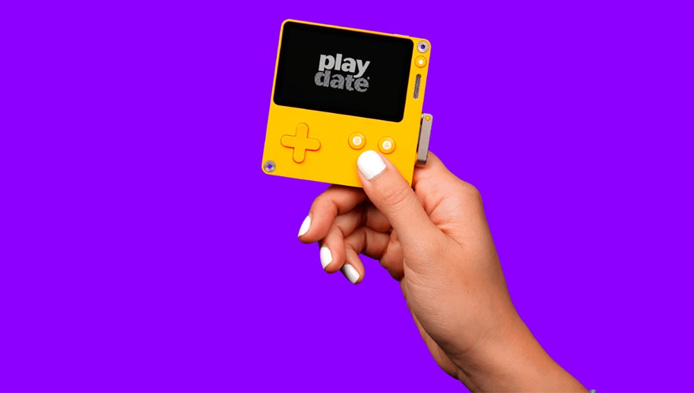 Consola Playdate