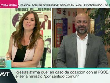 """José García Molina, sobre García-Page: """"Le hacemos ser mucho más socialista de lo que es"""""""