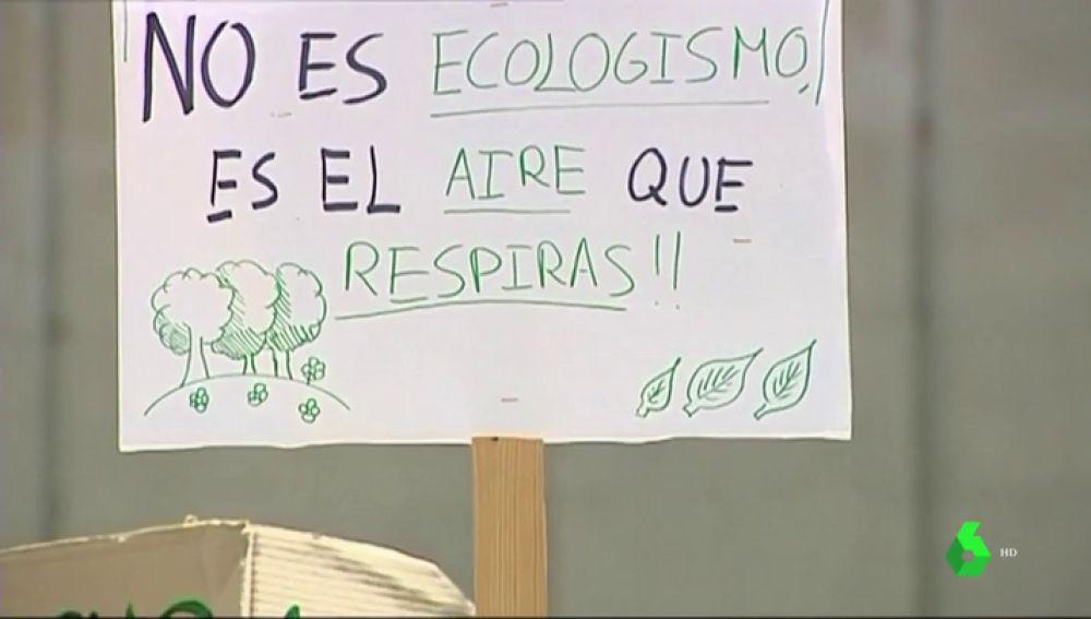 Familias y profesores se unen por un futuro verde: piden que se declare estado de emergencia climática