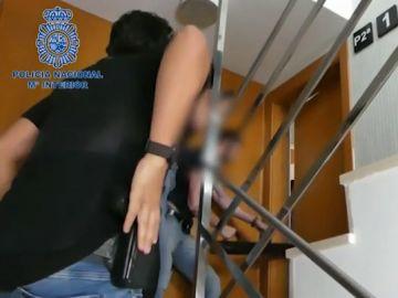 Detienen a cinco personas por incendiar los juzgados y una casa okupada en Ibiza