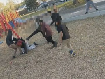 Varios niños agreden a una mujer en Canadá