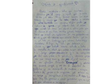 Carta de agradecimiento a la Policía de un menor con Asperger
