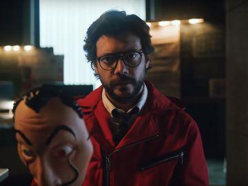 El Profesor de 'La Casa de Papel' en el tráiler de la tercera temporada de la serie