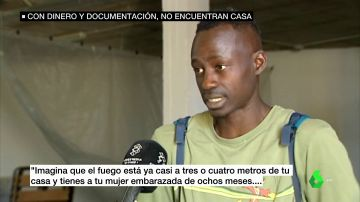 Migrante que trabaja en Lepe