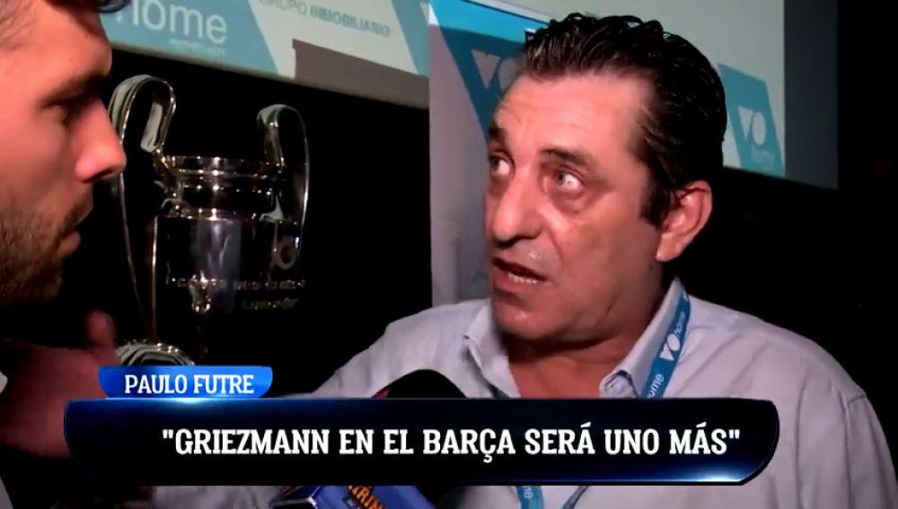 """Paulo Futre: """"Me quedé triste con la decisión de Griezmann, me ha dolido"""""""