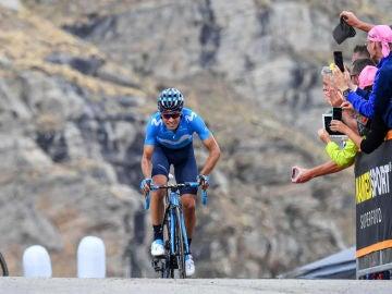Mikel Landa, en el Giro