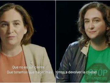 Vídeo de campaña de Ada Colau