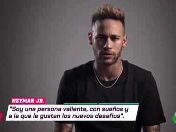 """Primer Mbappé... y ahora Neymar: """"Soy una persona valiente a la que le gustan los nuevos desafíos"""""""