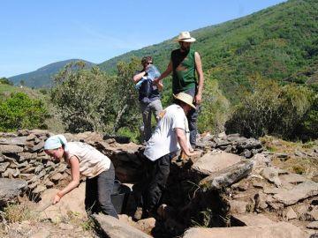 Excavación en Ribeira Sacra