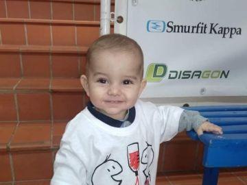 Imagen del pequeño Mauro