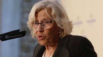 La alcaldesa de la capital, Manuela Carmena