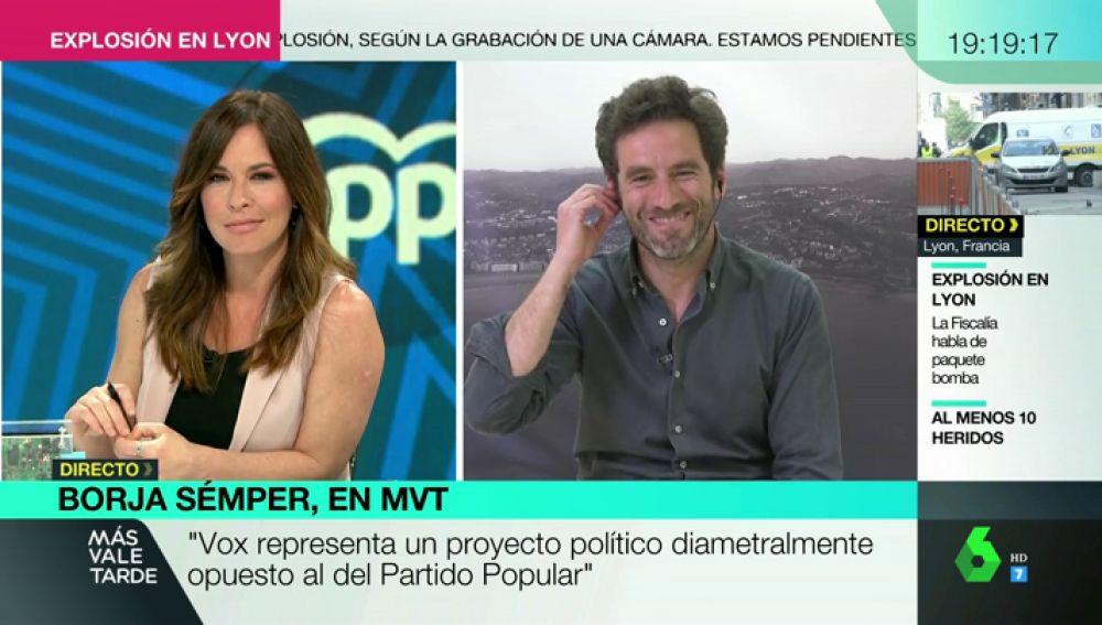 """Borja Semper, sobre el 26M: """"Nos la jugamos todos, desde Pablo Casado hasta el último de los candidatos"""""""