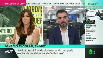 """Ignacio Escolar: """"Si el PP pasa a la oposición en Madrid será clara responsabilidad de Pablo Casado"""""""
