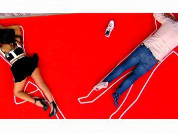 El 'stefdie' de Miki Nadal y Cristina Pedroche en Zapeando