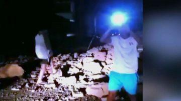 Imágenes del terremoto en Perú