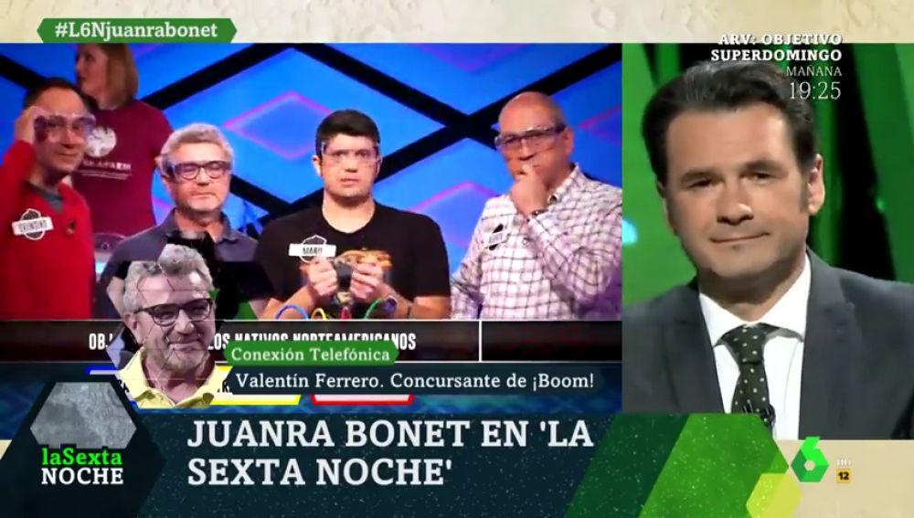 """Valentín Ferrero desvela cuánto se lleva Hacienda de lo acumulado por 'Los Lobos' en '¡Boom!': """"Entre el 45% y el 50%"""""""