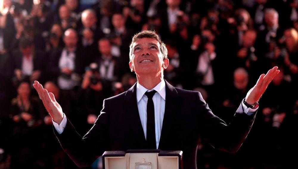 Antonio Banderas en el festival de Cannes