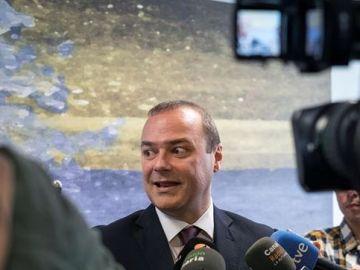 Augusto Hidalgo, candidato del PSOE a la alcaldía de Las Palmas de Gran Canaria