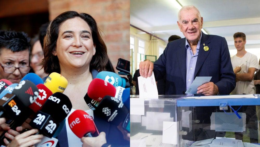 Ada Colau y Ernest Maragall
