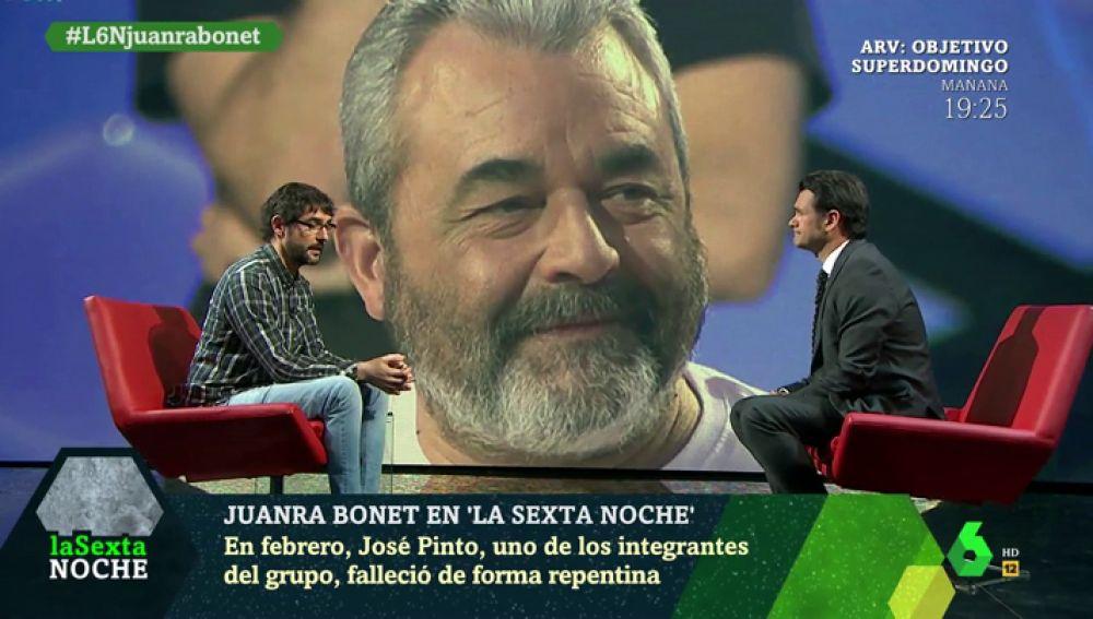 Juanra Bonet habla con Iñaki López