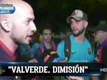 """La afición del Barcelona señala a Valverde tras la final de Copa: """"Que se vaya ya, nos ha dejado sin estilo"""""""