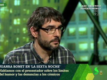 Juanra Bonet, en laSexta Noche