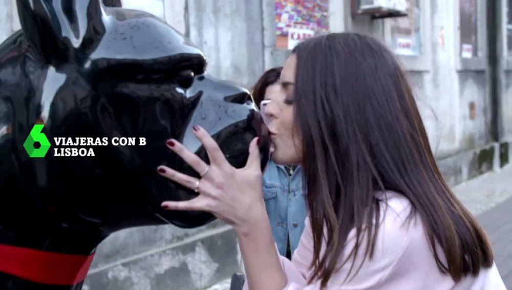 Ruth Lorenzo visita Lisboa con 'Viajeras con B'