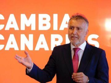 Ángel Víctor Torres, candidato del PSOE a la Presidencia del Gobierno de Canarias.