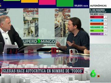 """Pablo Iglesias no dimitirá tras los resultados electorales: """"Mi cargo está a disposición de los inscritos de Podemos"""""""