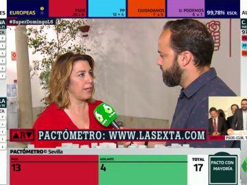 """Susana Díaz: """"Los andaluces han dicho 'no' al trifachito en las urnas"""""""