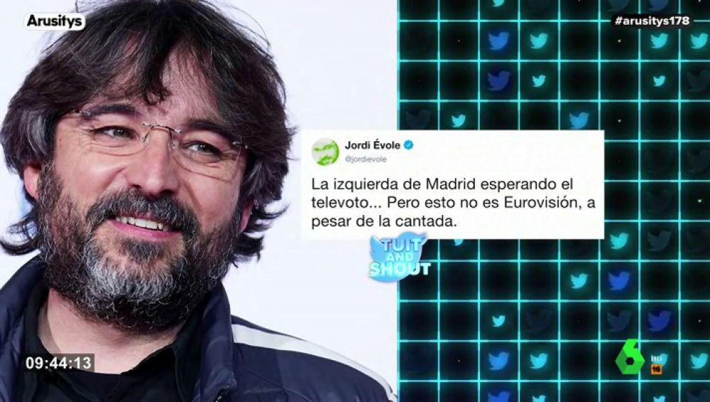 El tuit de Jordi Évole sobre los resultados electorales
