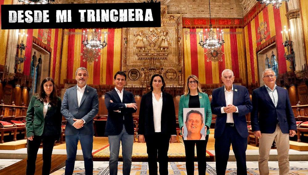 Imagen de los candidatos a la alcaldía de Barcelona