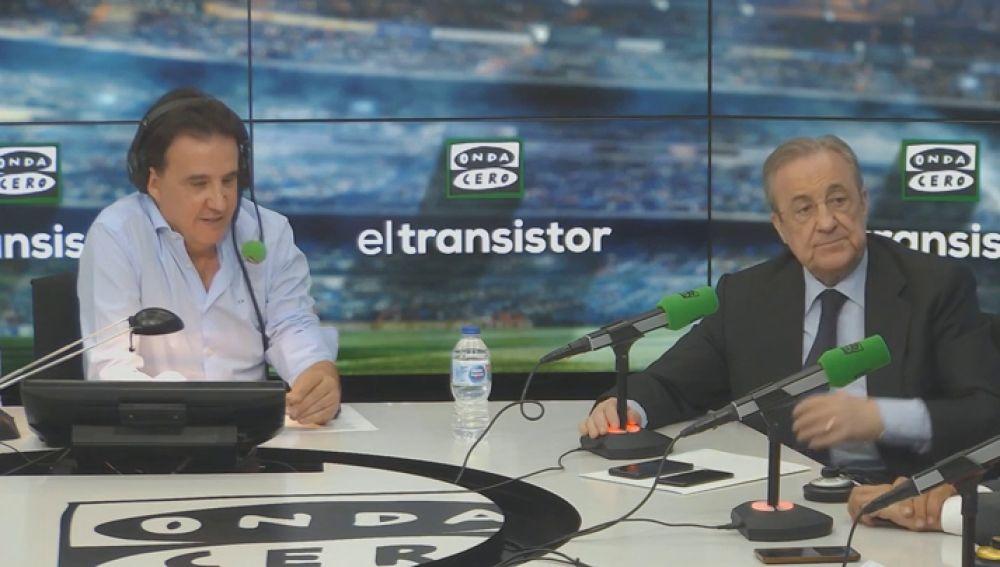 """Florentino Pérez: """"Tengo mucho interés que llegue Hazard al Real Madrid y la esperanza de que sea este año"""""""