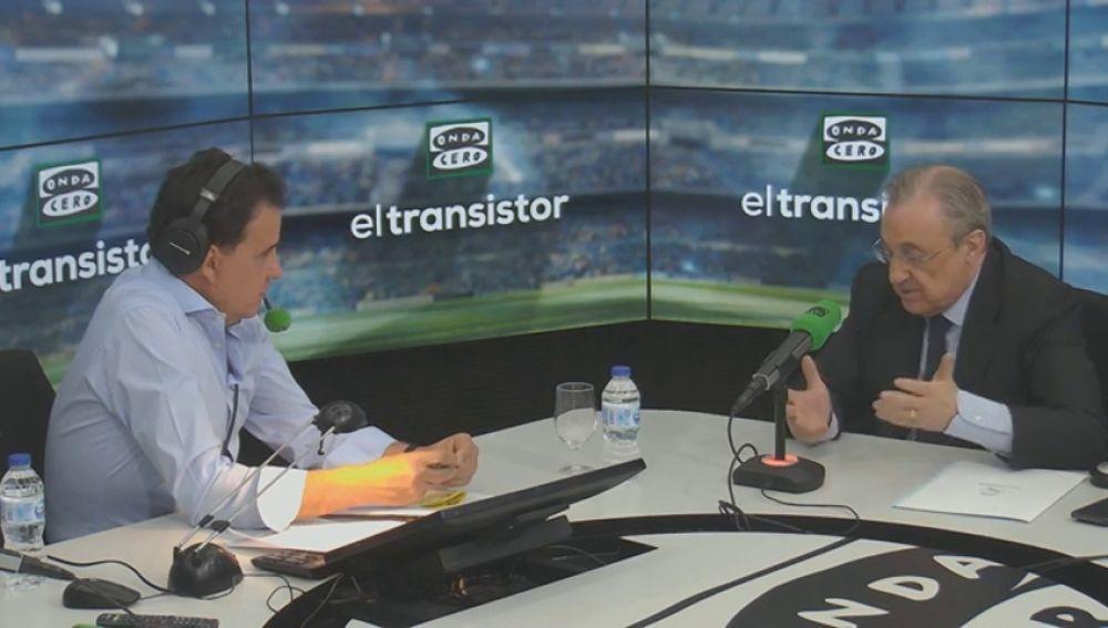 """Florentino Pérez confirma que Sergio Ramos le pidió salir del Real Madrid: """"Le dije que eso no podía ser"""""""