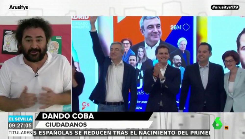 """El Sevilla analiza el escenario de pactos de Ciudadanos tras las elecciones: """"Dicen de este agua no beberé y van a beber de todos los vasos"""""""