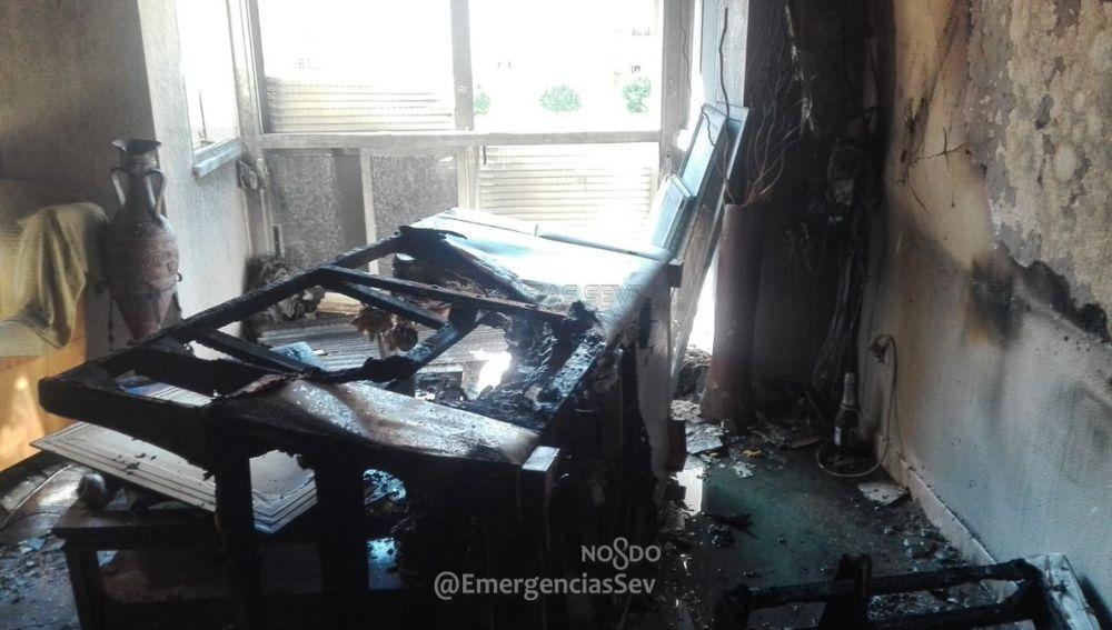 Imagen del interior de la vivienda