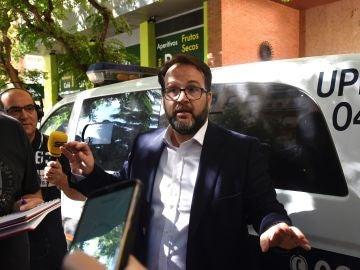 El abogado del Huesca, Pedro Camarero