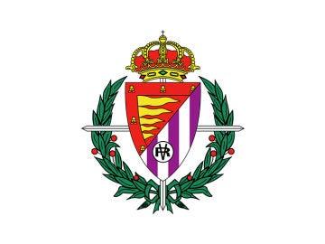 El escudo del Real Valladolid