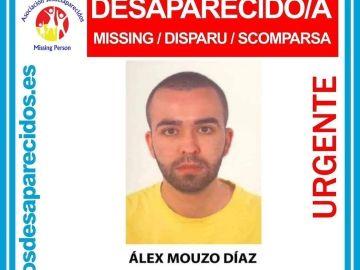 El joven Álex Mouzo