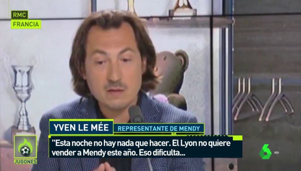 """El agente de Mendy: """"El Lyon no le quiere vender, eso dificulta las cosas"""""""