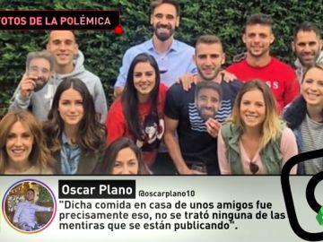 """Óscar Plano niega haber participado """"en ningún amaño de partido"""": """"Fue una comida de amigos"""""""