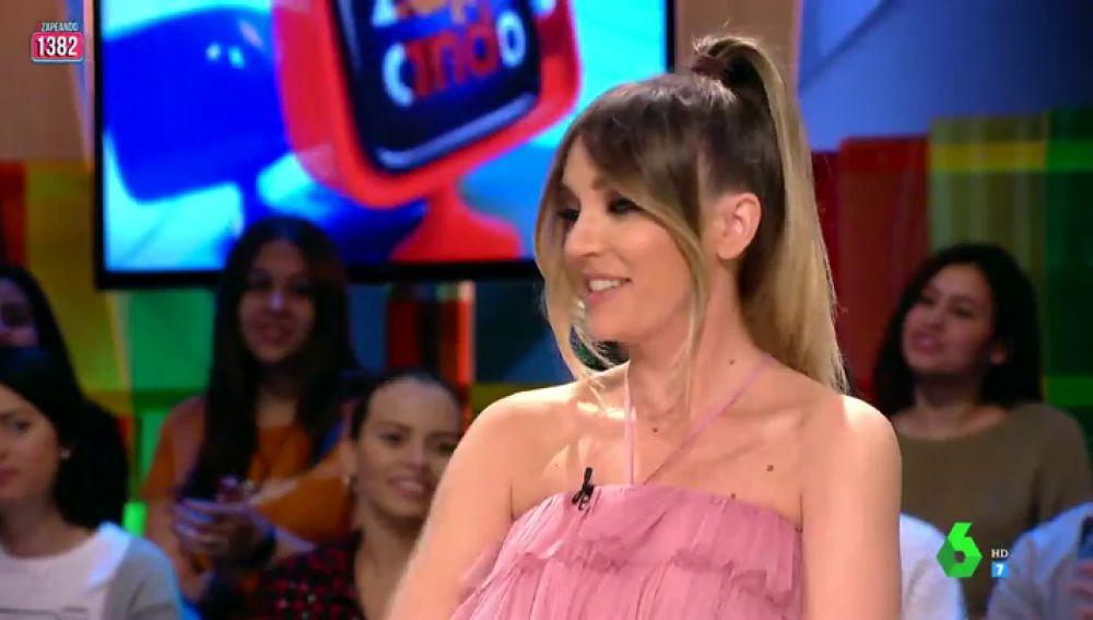 El espectacular look de Anna Simon en homenaje a Massiel y su 'Vivo cantando'