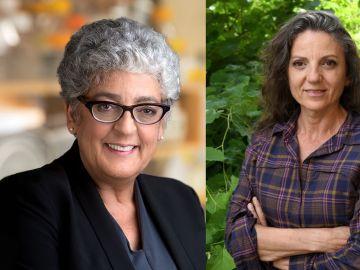 Joanne Chory y Sandra Myrna