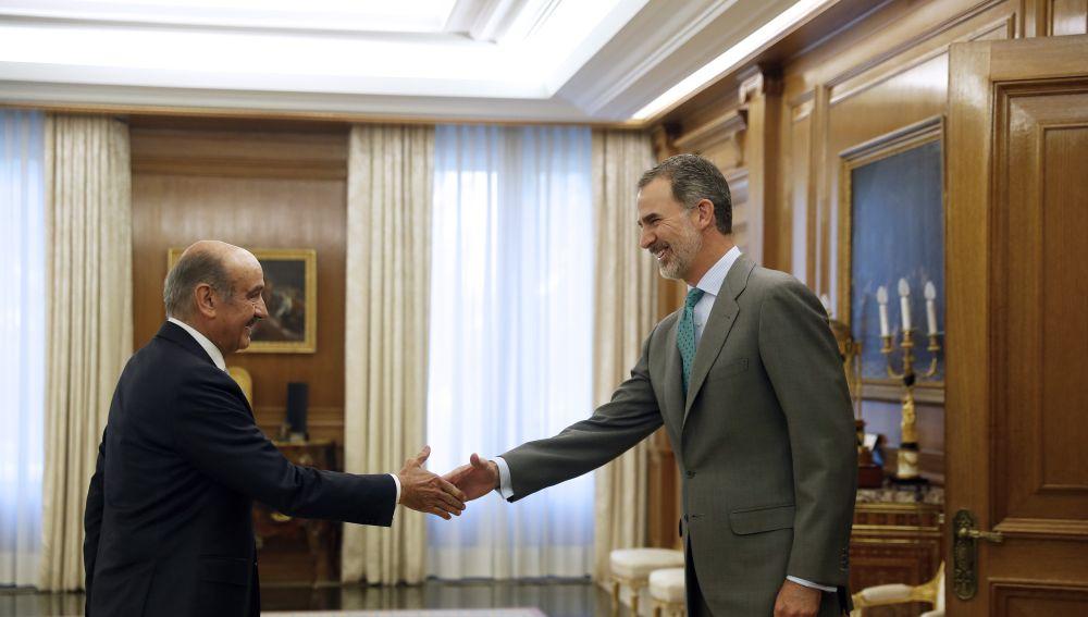 Mazón se reúne con Felipe VI